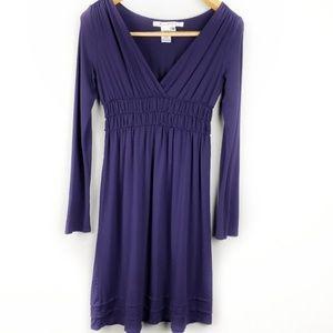 Max Studio long sleeves va neck dress size XS